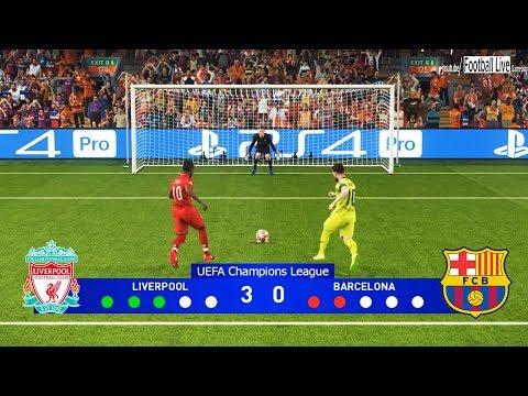 PES 2019 | Liverpool vs Barcelona | Penalty Shootout | Semi Final UEFA Champions League (UCL)