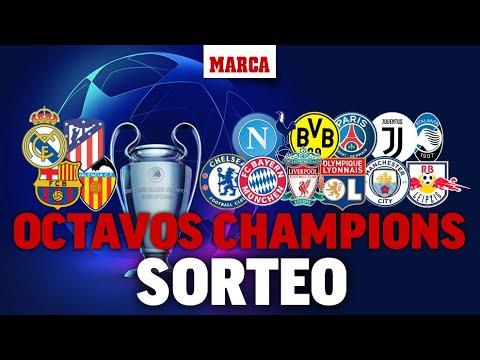 Sorteo de Champions 2020: Rivales de octavos de Real Madrid, Atlético, FC Barcelona y Valencia