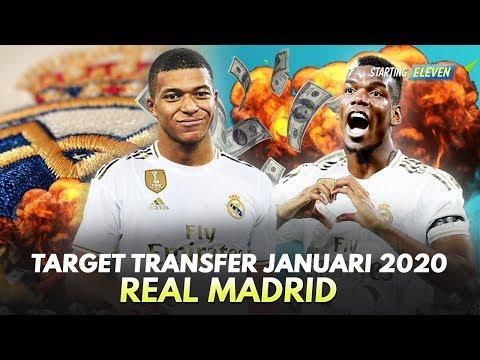 Pemain Incaran Real Madrid Di Bursa Transfer Januari 2020 – Rumor Transfer