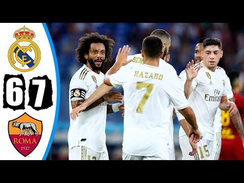 Real Madrid vs Roma 2-2 (4-5) – Highlights & Goals Resumen & Goles 2019 HD