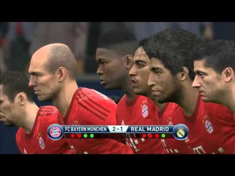 PES 2016 Penalty Shootout Bayern Munich vs Real Madrid