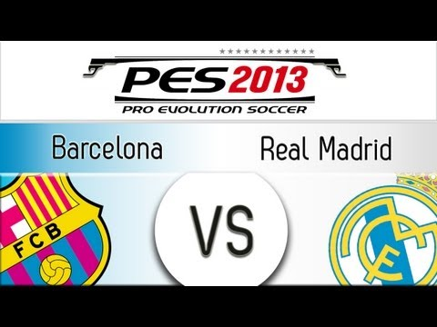 [TTB] PES 2013 Barcelona Vs Real Madrid – Playthrough Commentary, Superstar Difficulty