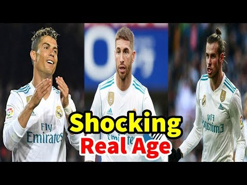 Real Madrid C F Players Real Name & Age In 2018