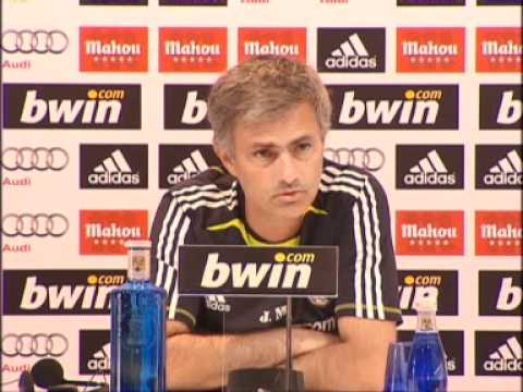 Jose Mourinho: Becoming Coach of Real Madrid is Like Reaching the Moon 9/20/10