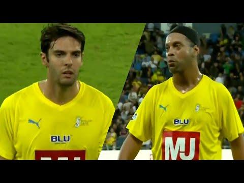 SHOW DE RONALDINHO E KAKÁ NO SHALOM GAME! 🔥 Ronaldinho & Ricardo Kaká vs Israel Legends 29/10/2019