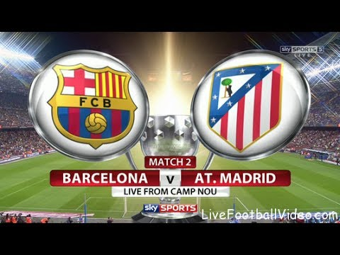 Live : FC Barcelona vs Atletico madrid Live Stream