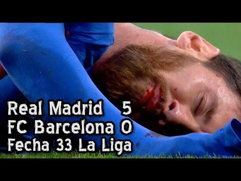 Real Madrid 5   Barcelona 0 – Fecha 33 (Parodia)