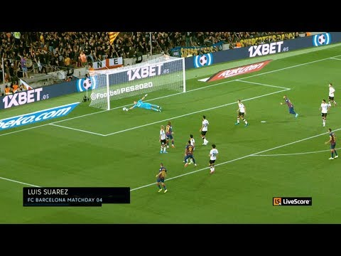 Watch De Jong, Suarez and Benzema all score with the LiveScore 360Replay Camera MD4