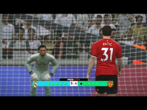 Real Madrid vs Manchester United – Uefa Super Cup 2017 Penalty Shootout