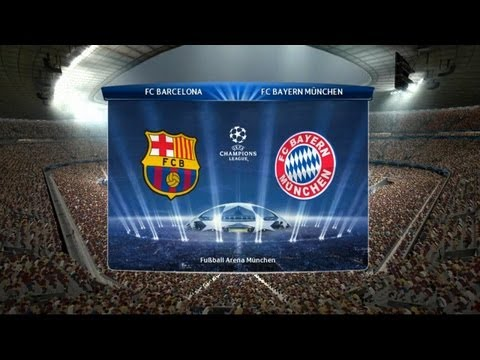 PES 14 Champions League FINAL : Barcelona – Bayern Munchen