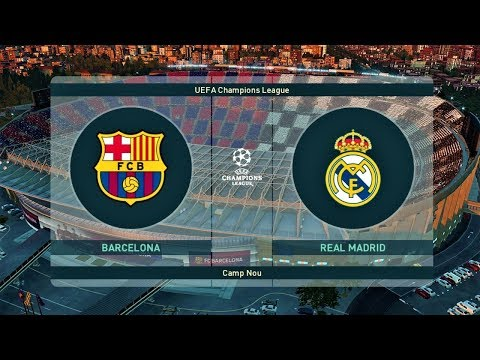 PES 2019 ● Barcelona vs Real Madrid ● FINAL UEFA Champions League ● Gameplay PC
