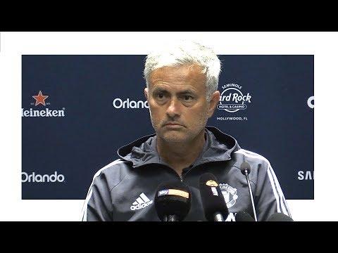 Jose Mourinho Pre-Match Press Conference – Real Madrid v Manchester United – Man Utd Tour 2017
