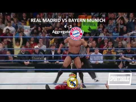 Real Madrid VS Bayern Munich summed up in 15 seconds | Sportsholic | 2017