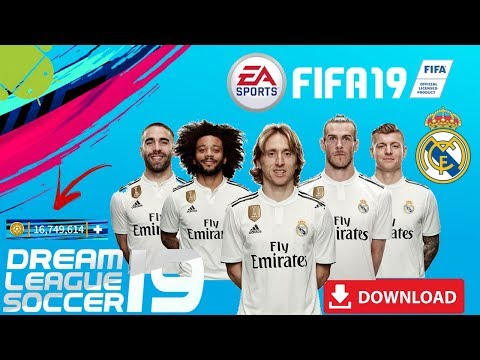 DLS19 Mod Real Madrid FIFA Offline Android Download