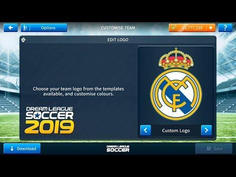 Create Real Madrid Team• Kit Logo 2019-20•Dream League Soccer 2019