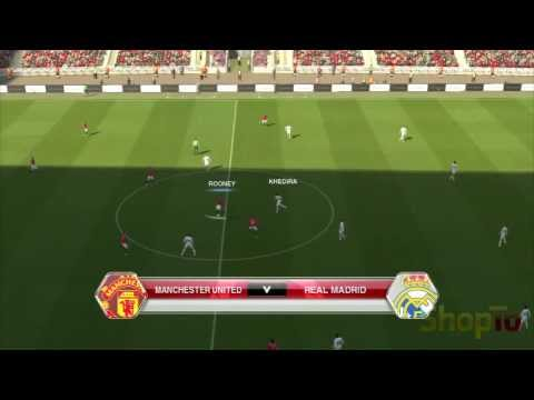 PES 2014 PS3 Gameplay – Man Utd vs Real Madrid – ShopTo