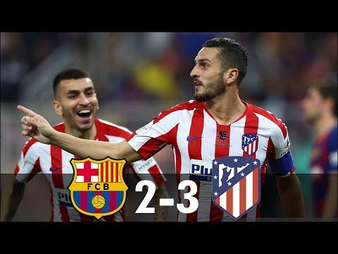 Barcelona vs Atletico Madrid 2−3 – All Goals & Extended Highlights – 2020