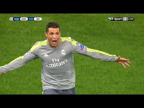 Cristiano Ronaldo Vs AS Roma Away HD 1080i (17/02/2016)