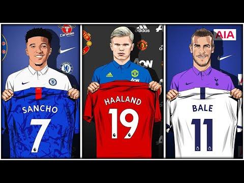 TOP 10 January TRANSFER Targets 2020! January Transfer News ft. Sancho & Haaland