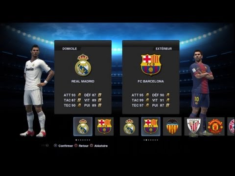 Demo 2 PES 2013 Real Madrid FC Barcelone Full Manuel