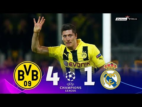 Borussia Dortmund 4 x 1 Real Madrid ● UCL 12/13 Extended Goals & Highlights HD