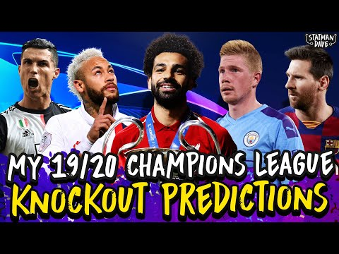 My 2019/20 Champions League Knockout Stage Predictions | Atletico vs Liverpool, Real vs Man City…