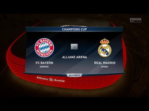 FIFA 18 Predict: BAYERN MUNICH VS REAL MADRID FC  Semi Final Champions League 2018  by Pirelli7