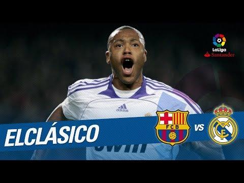 ElClásico – Resumen de FC Barcelona vs Real Madrid (0-1) 2007/2008