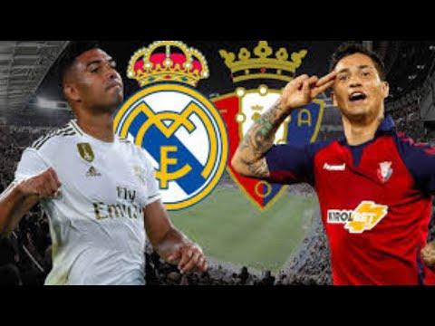 Osasuna – Real Madrid LIVE
