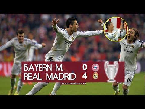 Bayern de Munique 0 x 4 Real Madrid – Melhores Momentos (HD 720p) Liga dos Campeões 13/14