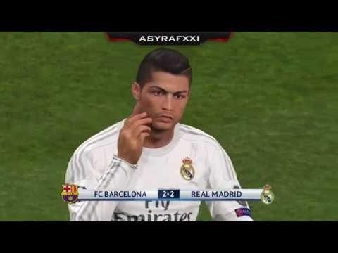 PES 2016 – Penalty Shootout [Barcelona vs Real Madrid]