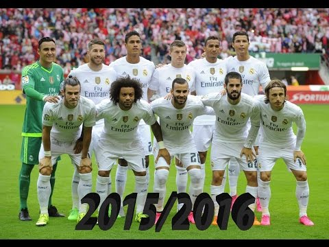 Real Madrid   All 152 goals: 11 Unofficial and 141 Official – 2015/2016   HD