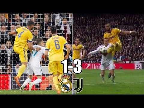 Real Madrid vs Juventus ¿ES PENALTI? 11/04/2018 Champions league 2018 | Mi resumen del partido