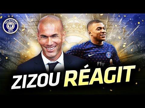 Mbappé et le Real Madrid, la réponse de Zidane – La Quotidienne #482