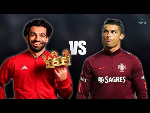"Cristiano Ronaldo vs Mohamed Salah – Who Is The Best "" Details Stats"""