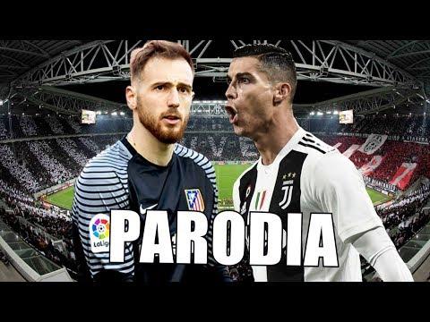 Canción Juventus vs Atlético de Madrid 3-0 (Parodia Si Se Da)