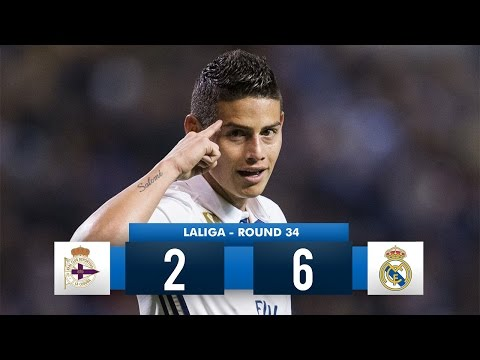 Deportivo La Coruña 2-6 Real Madrid HD 1080i Full Match Highlights (26/04/17)