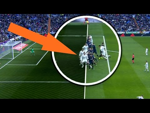 Big Referee Mistakes In Favour of Real Madrid 2016/17 HD