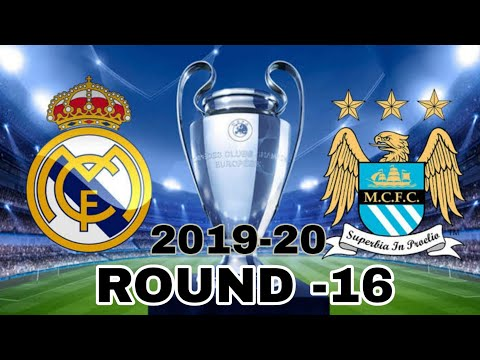 Uefa champions league round 16 next match -2019-20 Realmadrid vs Manchestercity