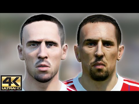 FIFA 15 vs. PES 15 Faces – Bayern Munich | 4K / 2160p | Head To Head Graphics Comparison