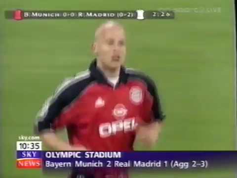 Bayern Munich v Real Madrid CL Semi Final 2nd Leg 1999/00