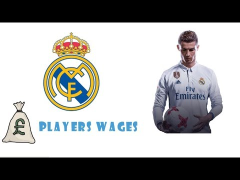 Real Madrid Player Salaries 2017-2018