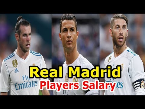 Real Madrid Players Salaries 2017 18 Weekly Wages