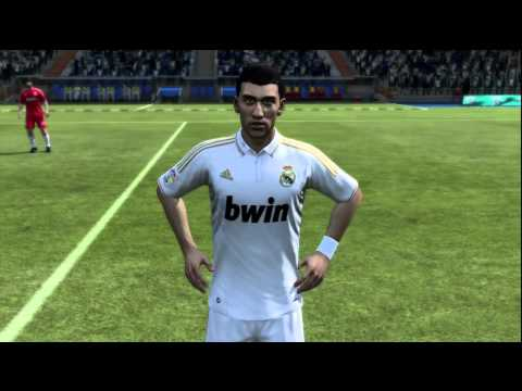 FIFA 12 – REAL MADRID PLAYER FACES