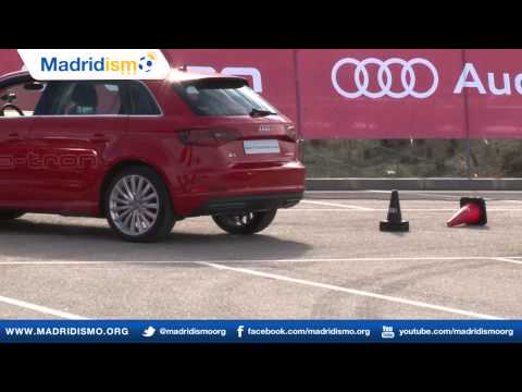 Real Madrid Players Test Out the New Audi Technology