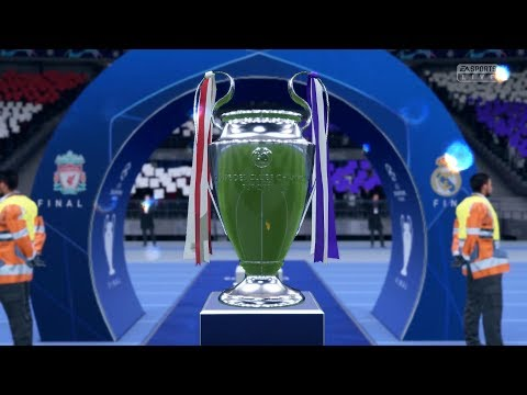 FIFA 19 | Real Madrid vs Liverpool | UEFA Champions League Final