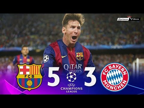 Barcelona 5 x 3 Bayern Munich ● UCL 14/15 Extended Goals & Highlights HD