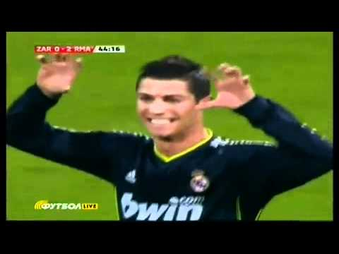 Cristiano Ronaldo – Best Freekick Ever- Real Madrid vs Zaragoza 2:0 (3:1)