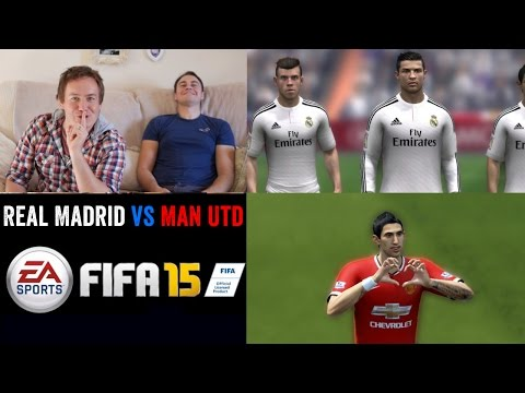 FIFA 15 GAMEPLAY – REAL MADRID vs MANCHESTER UNITED