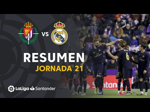 Resumen de Real Valladolid vs Real Madrid (0-1)
